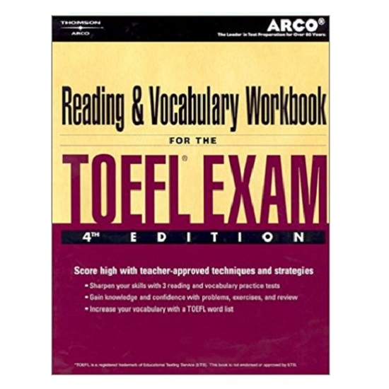 Reading and Vocabulary for the TOEFL Exam