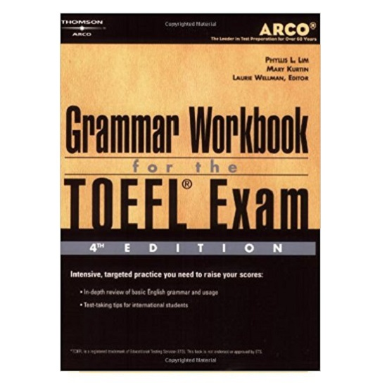 Grammar for the TOEFL Exam