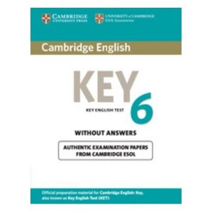 Cambridge English: Key 6