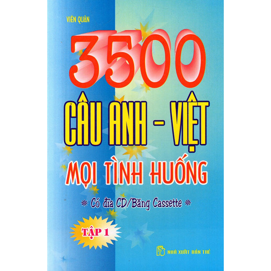 3500 câu Anh - Việt trong mọi tình huống