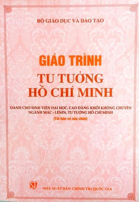Giáo trình tư tưởng Hồ Chí Minh