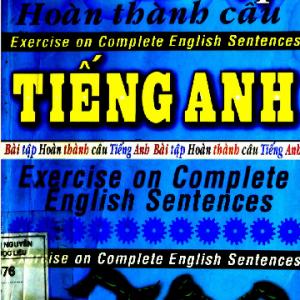 Bài tập hoàn thành câu