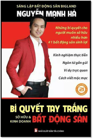 Bí quyết tay trắng - sở hữu & kinh doanh Bất Động Sản - Nguyễn Mạnh Hà