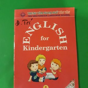 English for kingdergarten (Copy)