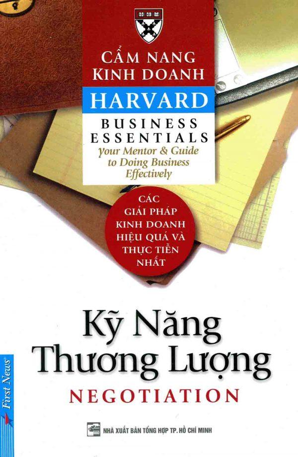 Kỹ năng thương lượng - Harvard
