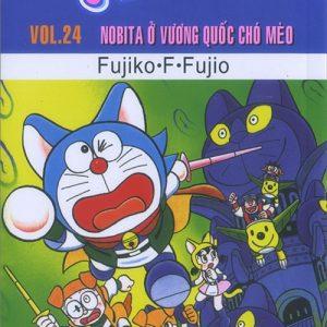 Doraemon Vol.24 - Nobita ở vương quốc chó mèo