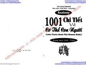 1001 chi tiết về cơ thể con người