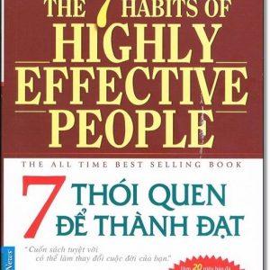 7 Thói quen để Thành đạt - Stephen R. Covey