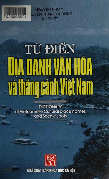 Từ điển địa danh văn hóa và thắng cảnh