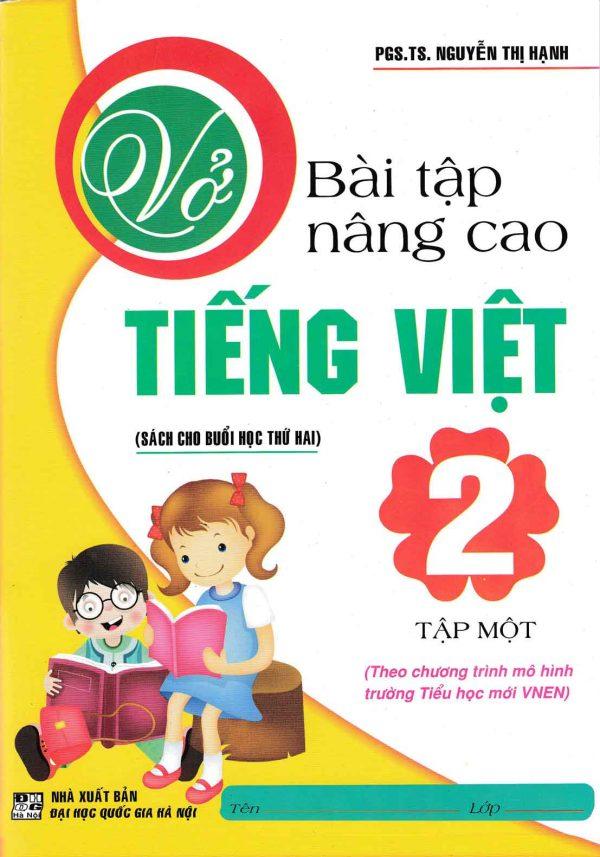 Vở bài tập nâng cao Tiếng Việt Lớp 2 (Tập 1)